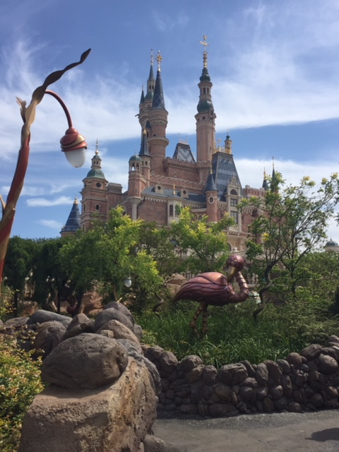 Shanghai Disney castle